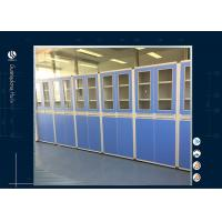 China Two Section Glass Window  Acid Storage Cabinet , Laboratory Acid Storage Containers on sale