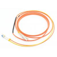 Duplex 3.0mm Mode Conditioning Patch Cord 3M LSZH Orange For Gigabit Interface Converter Manufactures