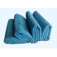 Compact Terry Custom Microfiber Towels , 100 Polyester Kitchen Dish Towel Quick Drying Manufactures