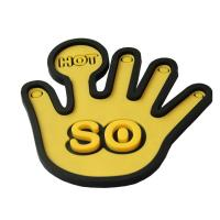 Hand shaped silicone coaster for sale