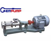 I-1B explosion-proof stainless steel thick slurry pump / Single Screw Pump / printing pump / dyeing pump / paper pump Manufactures