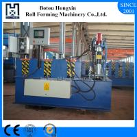 Trapezoidal Roofing Sheet Forming Machine , PLC Control Metal Roofing Machine