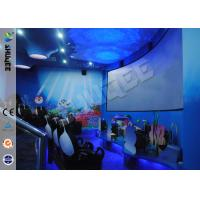 Funny Cartoon Cute 5D Theater System 360 Degree Screen With Motion Simulator Film Manufactures