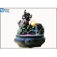 China Water Fountain Waterscape Decoration Kirin Turtle Life Feng Shui Wheel Home Decor Crafts on sale
