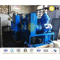 Marine Diesel Centrifugal Oil Purifier Automatic Type With PLC Control Touch Screen Manufactures
