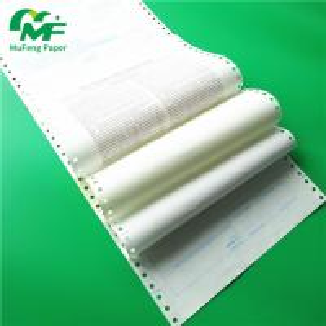 China Manufacturer Secret Envelope Carbonless Paper Pin Mailer Payslip Ncr Atm Computer Paper Manufactures