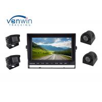Sturdy 4CH 1080P LCD Quad Car Video Monitor DVR 12~24V With 4 Channel HD Inputs Manufactures