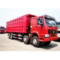 Sinotruk Howo 50 Ton Dump Truck For Construction And Mineral Material Transportation Manufactures