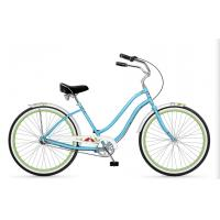 Lightweight 700C 26 Light Blue Beach Cruiser Bicycles With Alloy RIM / HUB Manufactures