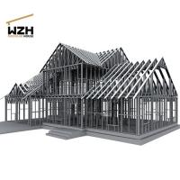 High Strength Galvanized Light Steel Frame Manufactures