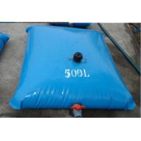 Inflatable 500L Tarpaulin Water Tank Light Weight For Fire Fighting Manufactures