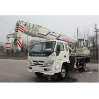 Chinese manufacturer small wheel crane truck mounted crane with telescopic GNQY-C10 Manufactures