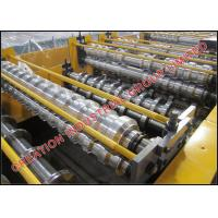 Buy cheap Aluminium Double Decker Roof Roll Forming Machine for Long Span and Step Tile Roofing Sheet from wholesalers