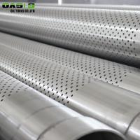 Light Weight Perforated Stainless Steel Pipe Durable For Pipe Base Screens Manufactures