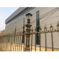 Outdoor Decor Cast Iron Fence Street Decoration Custom Metal Fence Manufactures