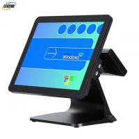 Restaurant Supermarket Retail POS System Intel Cerelon I3 CPU With Stable Metal Stand Manufactures