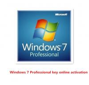 China Professional Windows 7 Product Activation Key , 32bit / 64bit Key Online Activation on sale