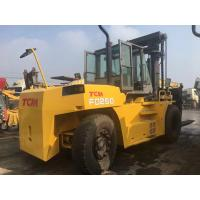 China Original TCM Used 25 Ton Forklift 7520 X 3200 X 4250 Mm SGS Approved on sale