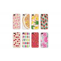 Summer Fruit TPU Durable Cell Phone Back Cover For Iphone 6 6S 7 7Plus 8 8Plus X Manufactures