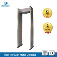 China New Type 6 zones Walk-Through Metal Detector Gate With Full Body scanner  6/12/18 Zones Easy Assembly With LCD Screen on sale