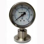 Y-M Series Hygiene Diaphragm Pressure Gauge Manufactures