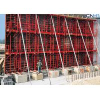 Concrete Wall Formwork System , Steel Wall Formwork For Straight Wall Manufactures