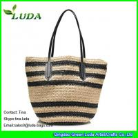 2015 Summer Discounted Designer Paper Straw Handbags From China Manufactures