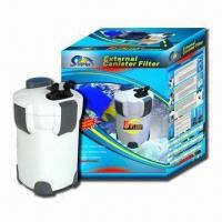 Aquarium External Filter with 18W Power, 110, 220 and 240V Voltage, Measuring 232 x 232 x 395mm Manufactures