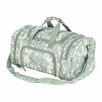 China Lightweight Military Tactical Bag Travel Duffle Bag With Shoes Compartment on sale