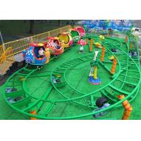 Mini Snail Shape UFO Roller Coaster Customized Height With Chain Lift Structure Manufactures