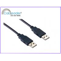28 / 24 AWG Tpye2.0 A USB Cables Male to Male  for printer, External Hard drive DV CAM Manufactures