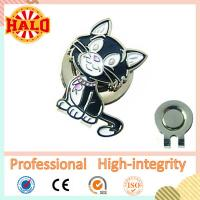 China Personalised Custom Made Golf Gift Fashion Cap Clip With Maker on sale