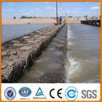 China Heavy galvanized river bank protect stone gabion baskets/gabion box/rock basket wire mesh( on sale