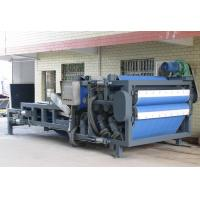 Continuous / Automatic Belt Filter Press For Sludge Dewatering Manufactures