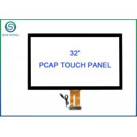 Buy cheap 32 Inch USB Touch Screen Sensor Bonded Strengthened Cover Glass For Vending from wholesalers