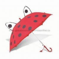 China Kid's Umbrella, Measures 18 Inches, Made of 170T Polyester, Automatic Open on sale
