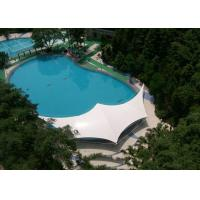 Modern Outdoor Shade Tension Membrane Structures For Swimming Pool Manufactures