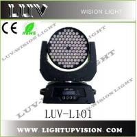 LED Stage Light/108x3w LED Moving Head Wash Light (LUV-L101) Manufactures