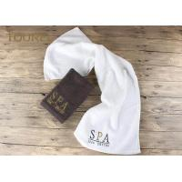 Luxury plain dyed hotel towel set in pakistan cotton with for 5 star mobile salon