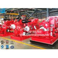 Horizontal Single Stage Double Suction Diesel Engine Fire Pump Set With UL Listed NFPA 20 Standard Manufactures