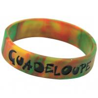 Silicone Bracelet mixed colors, Silicone Wristband with Camouflage Color Manufactures