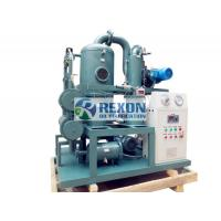 Multi Stage Transformer Oil Purifier Machine , Transformer Oil Dehydration Plant ZYD-100 6000LPH Manufactures