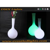 Quality Bright Fashionable Led Flower Pots Home Decorative Built In Lights for sale
