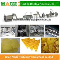 Quality hot new design efficient fried tortilla chips making machine for sale