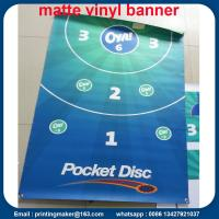Quality 440 G Matte Vinyl Banners with Grommets for sale