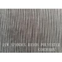 21W  SPANDEX RAYON POLYESTER CORDUROY FOR GARMENT Manufactures