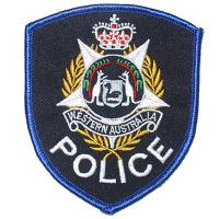 ​custom police embroidery patch and back badge Manufactures