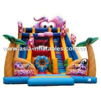 Outdoor Inflatable Slide In Octopus Style For Children Sports Games Manufactures