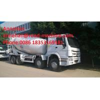 China Sinotruk Howo 6x4 Concrete Mixer Truck / Concrete Mixing Equipment 6cbm 70 Cabin With Air Condition on sale