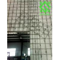 Mesh embeded expanded perlite insulation wall insulation for Fireproof wall insulation
